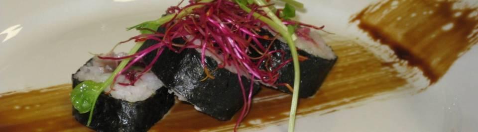 Sushi van Hollandse nieuwe